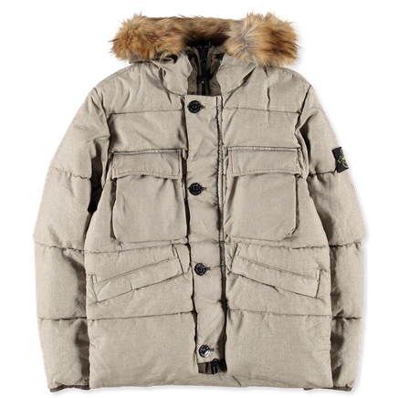 691542833 V0058 GD Linen Down Jacket