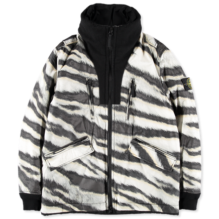 6915439E1 V0090 White Tiger Camo Jacket