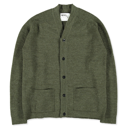 MHL Wool Pocket Cardigan