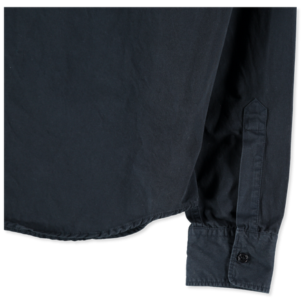 Stone Wash Cotton Army Shirt