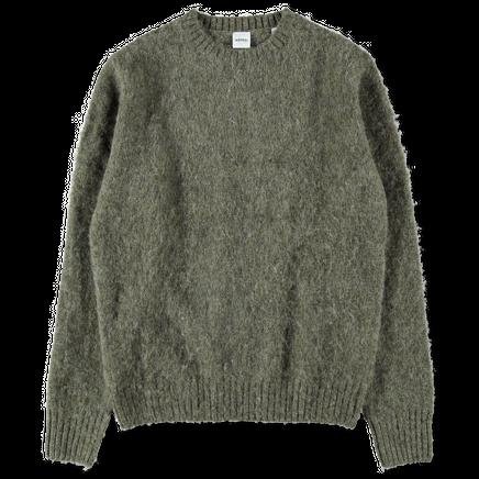 Shetland Wool Crew Knit