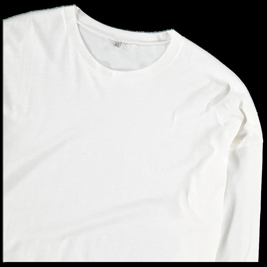 Michael L/S Tee Cotton Silk