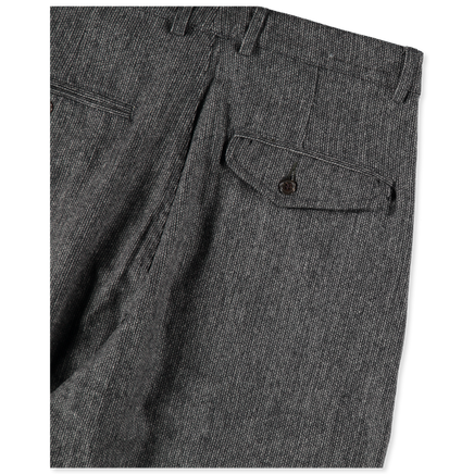 Double Pleat Marl Pant