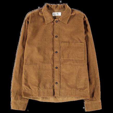 Fine Corduroy Uniform Shirt