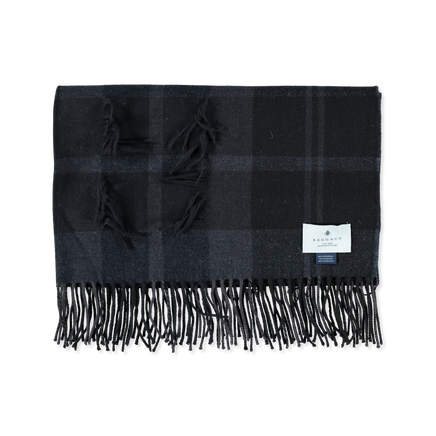 Fringe Wool/Cashmere Stole
