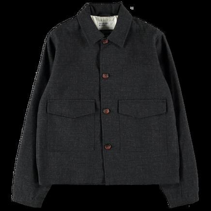Textured Watchman Jacket