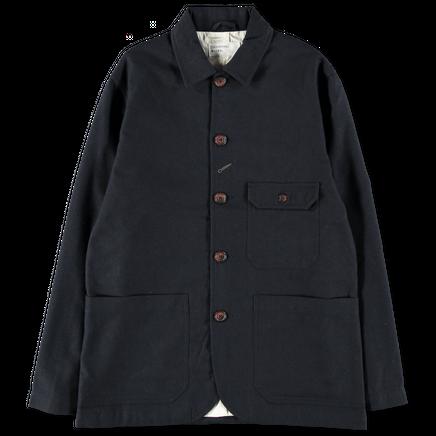 Norfolk Bakers Jacket in Wool Marl