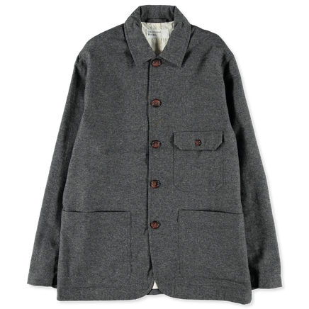 Norfolk Bakers Jacket in Wool Marl