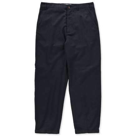 Wool Marl Loose Pant