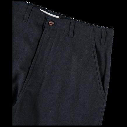 Wool Marl Loose Pant