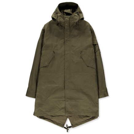 Wax Cotton Parka