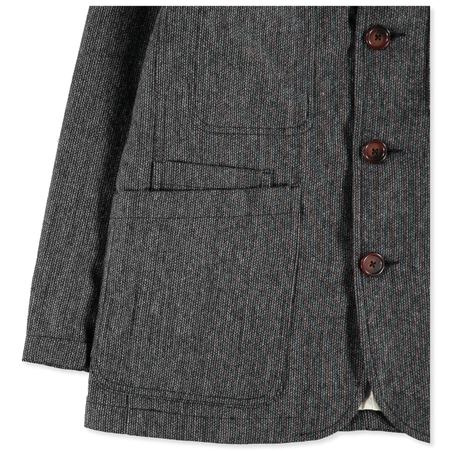 Marl Bakers Suit Jacket