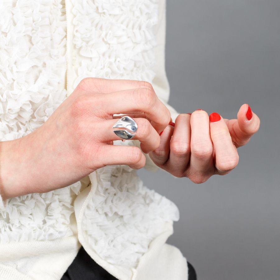 Organic Ring Sterling Silver