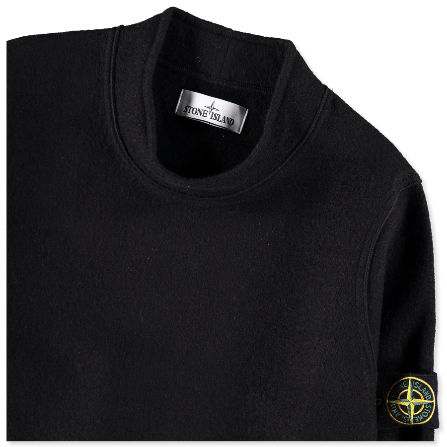 6915553A6 V0029 Pure Wool Felted Crew Neck