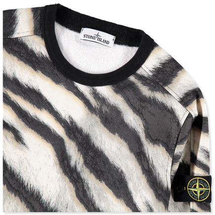 6915653E3 V0090 White Tiger Camo Sweatshirt