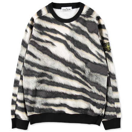 6915653E3 V0090 White Tiger Camo Sweatshirt