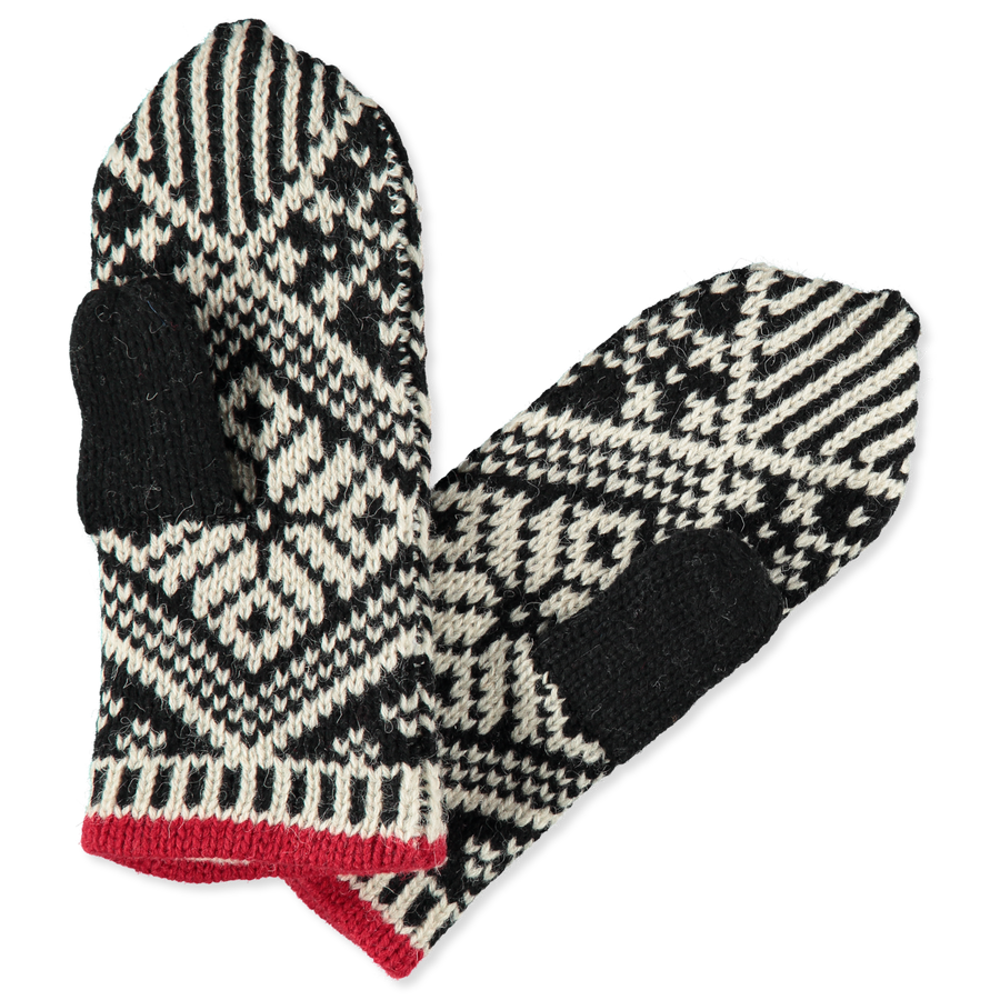 Nordic Wool Mitten