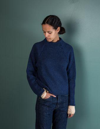 Fran Sweater Dusty Blue