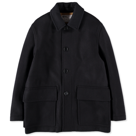 Melton Military Worker Coat