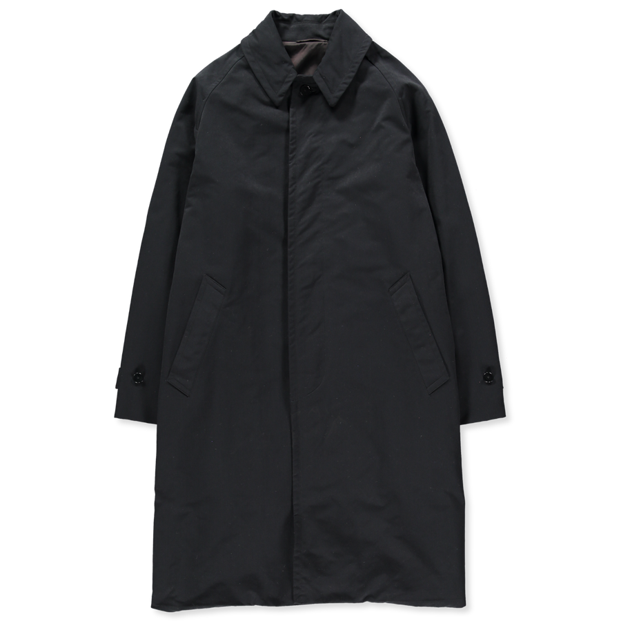 Raglan Fly Front Coat