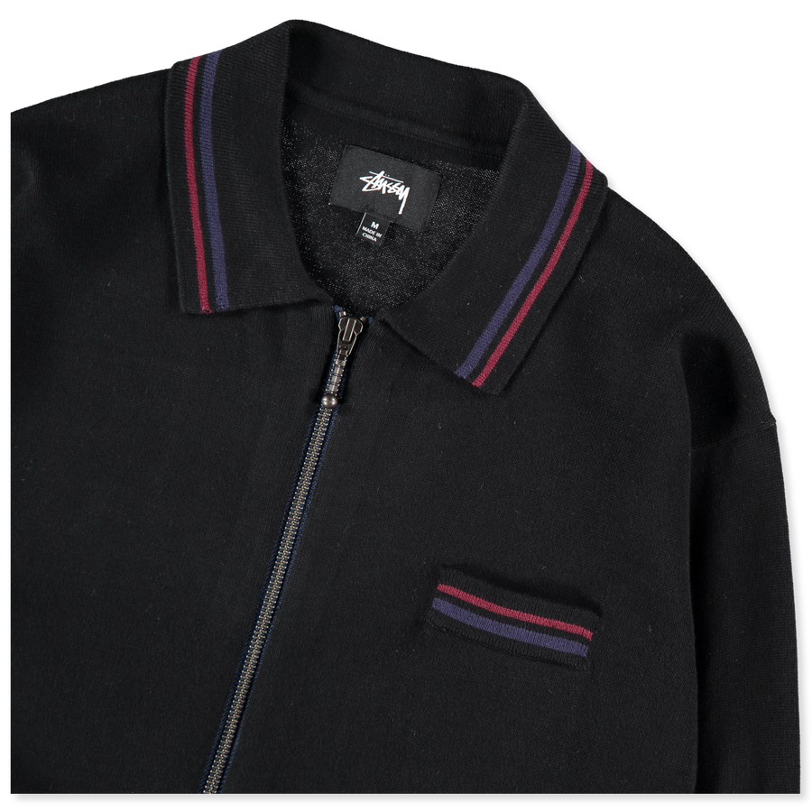 Perry Zip Knit Polo