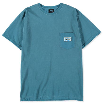 Pigment Dyed Pkt T-Shirt