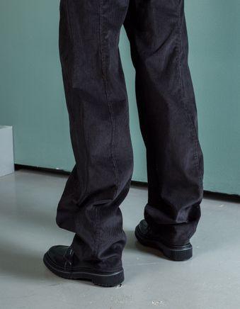 Large Twisted Pants Corduroy