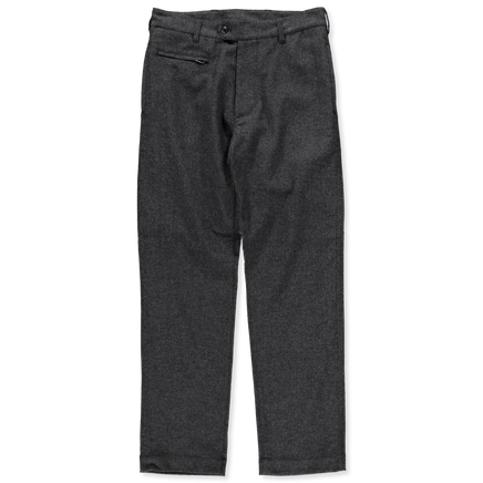 Nylon Wool Tweed Club Pants