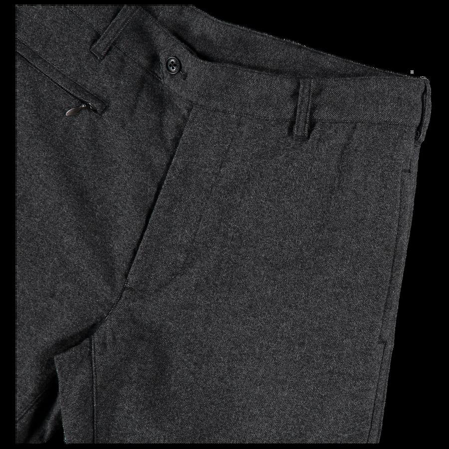 Nylon Wool Tweed Club Pants