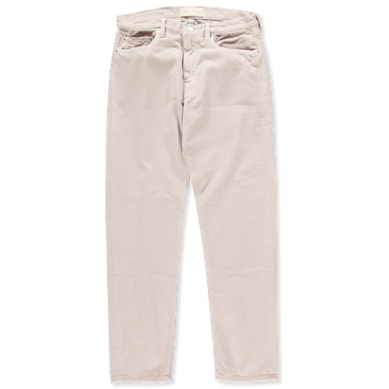 Men's tapered 5-pocket cord