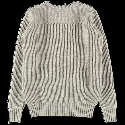 MHL Fisherman's Rib Sweater