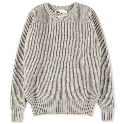 MHL Fisherman's Rib Sweater