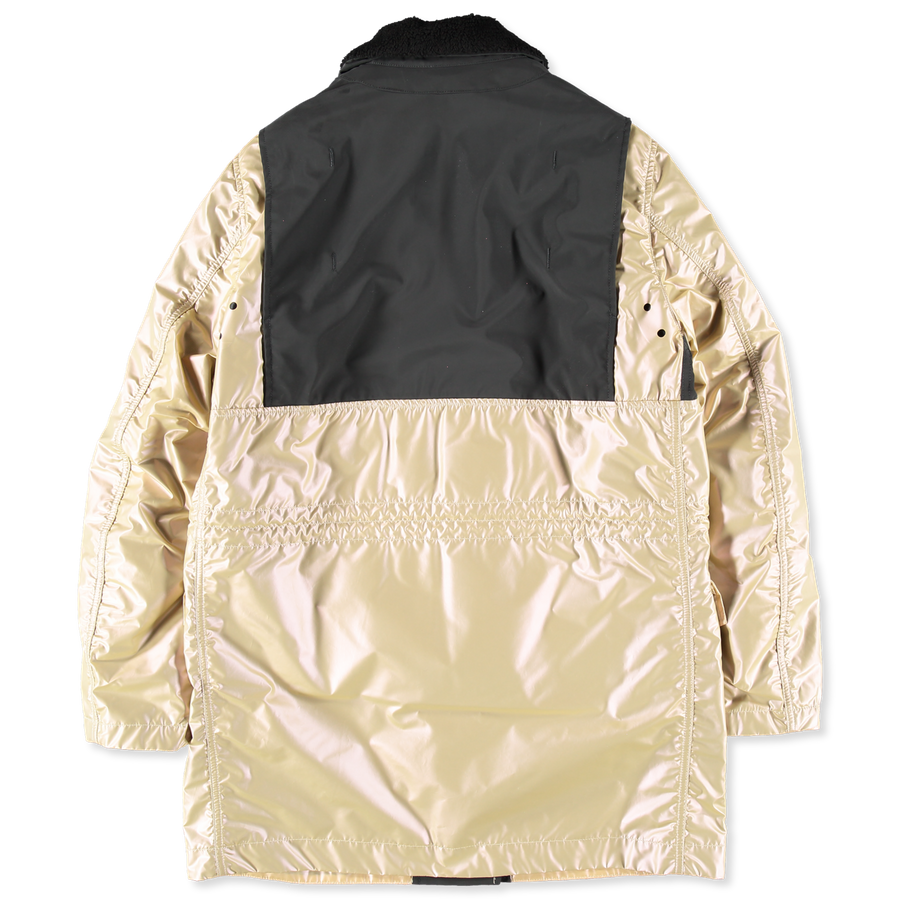 6915709M1 V0038 Iridescent Coating Field Coat
