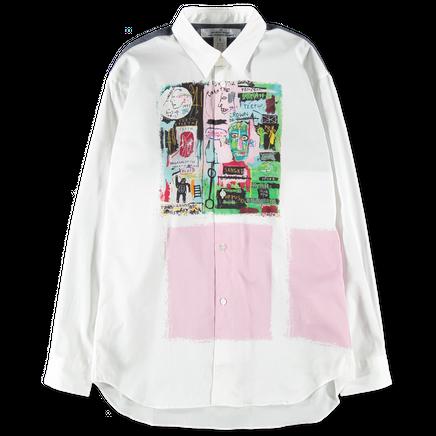 Basquiat Print Poplin Shirt