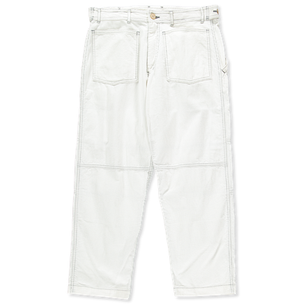 Bleached Cord Worker Pant
