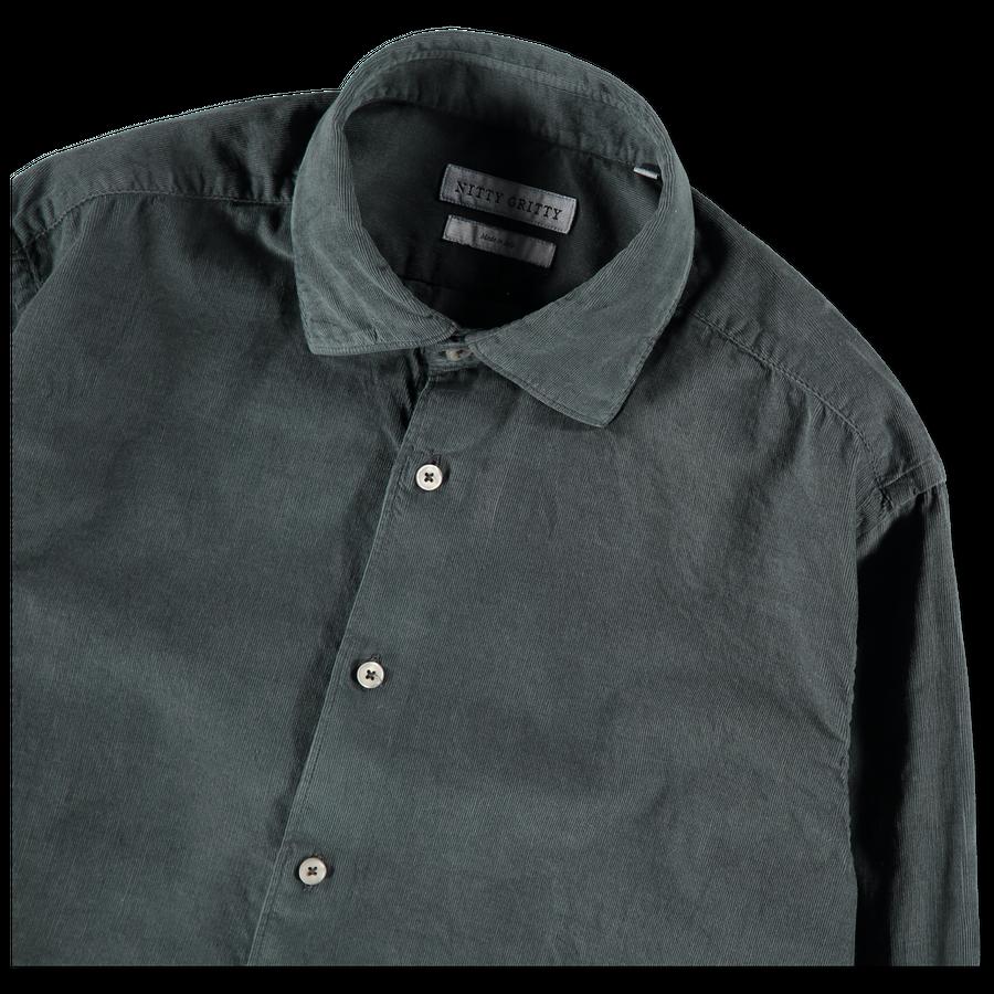 Washed Babycord Dress Shirt