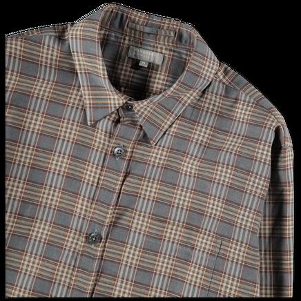 Tartan Cotton Cashmere Shirt