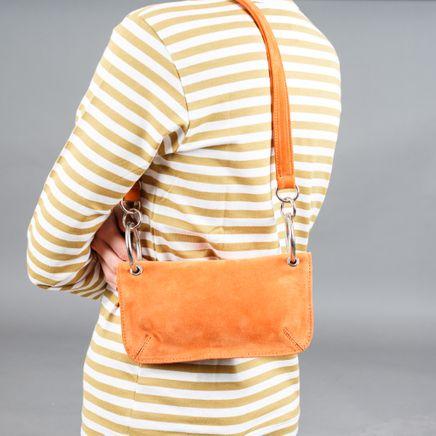Mindy Bag Persimon Suede
