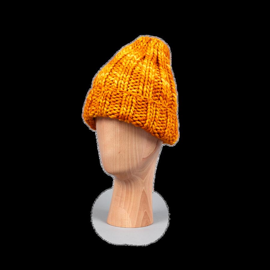 Fold Hat Marigold Merino