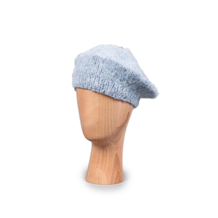 Mohair Beret Powder Blue