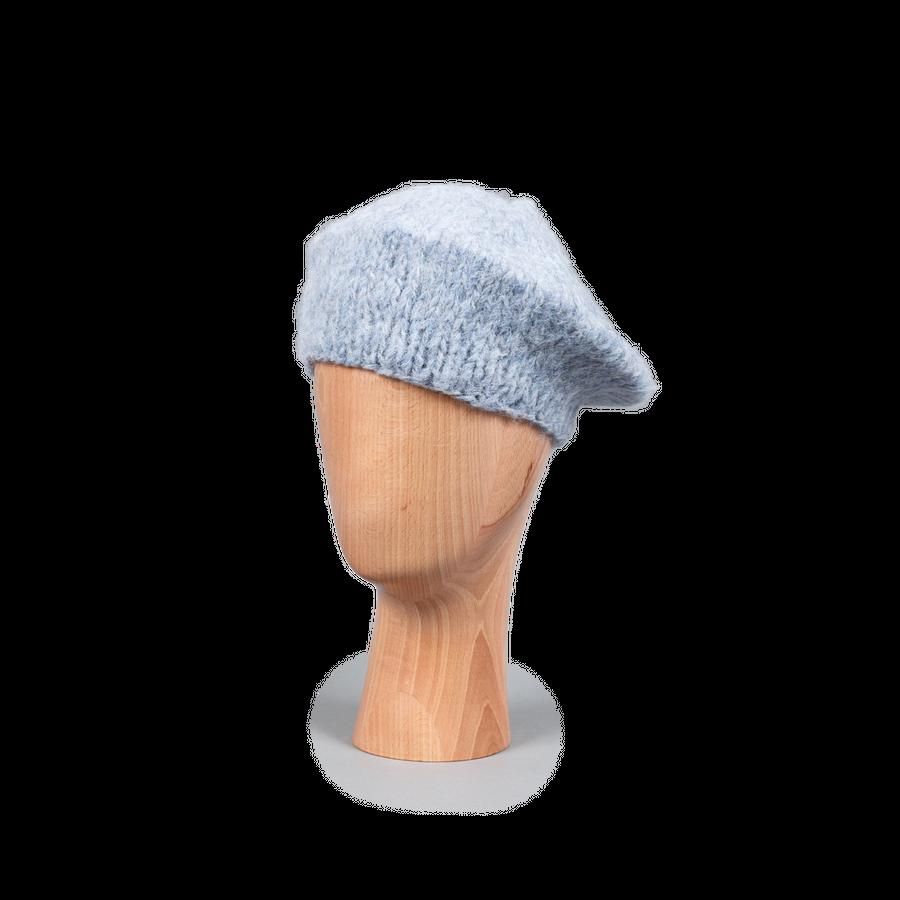 Mohair Beret Powder Blue