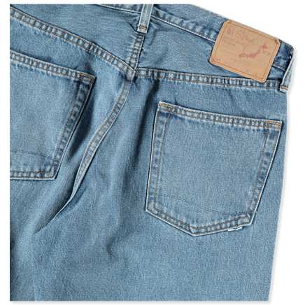 Dad's Fit 101 Washed Denim