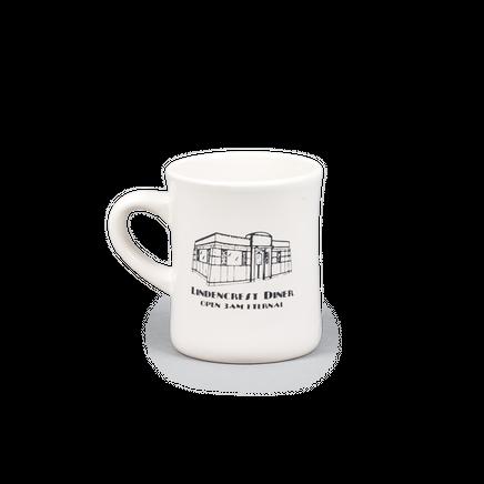 Black Coffee Diner Mug