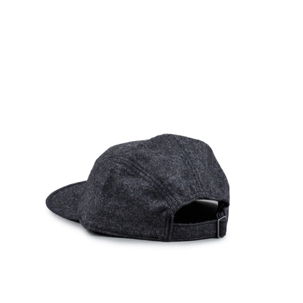 Recycled Wool Cap Grey