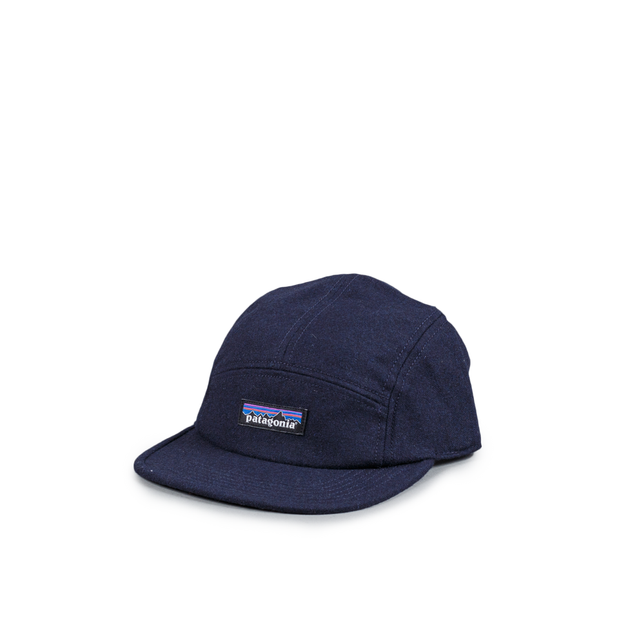 Recycled Wool Cap Navy