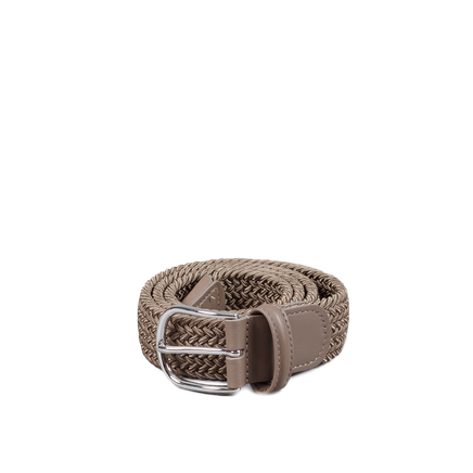 Chrome B Stretch Belt Khaki