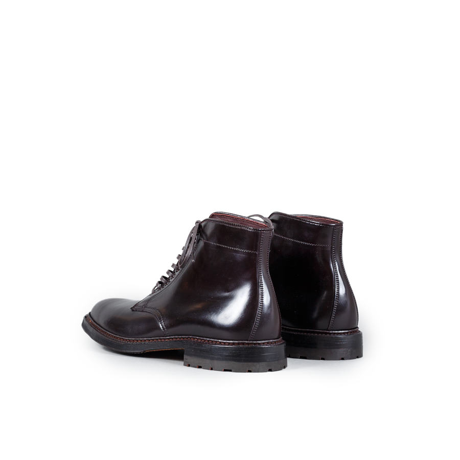 Plain Toe Cordovan Boot