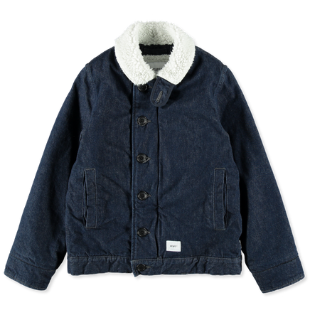 Deck Jacket Cotton Denim