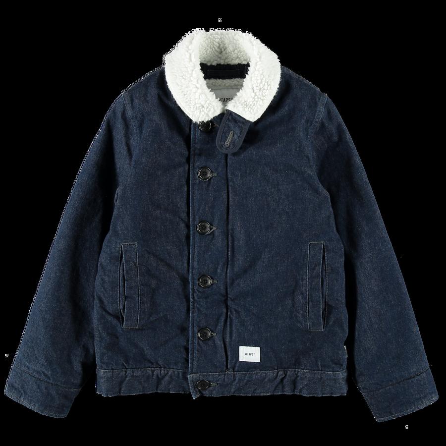 Deck Jacket Cotton Denim