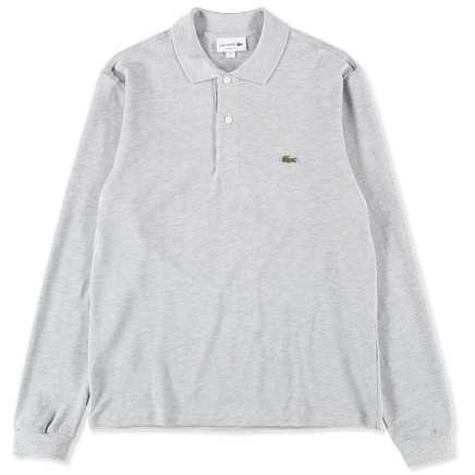 Long Sleeve Polo Piqué
